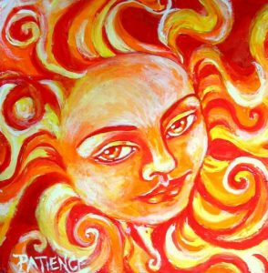 Sun art solar return