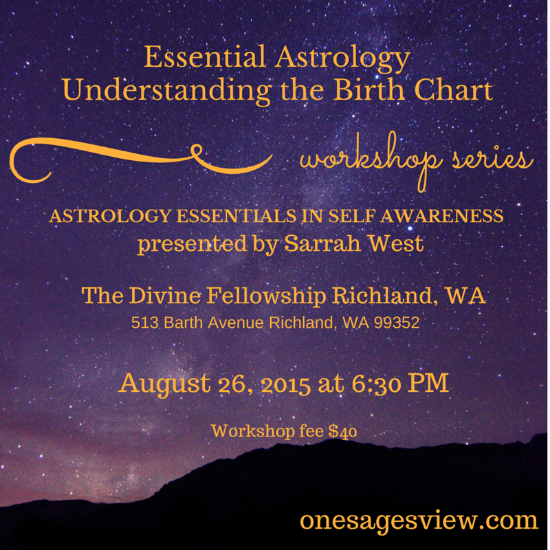 Essential Astrology Understanding the Birth Chart_promo_August26.2015
