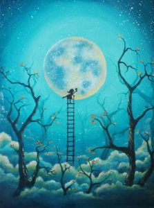 full-moon-girl-with-ladder-painting