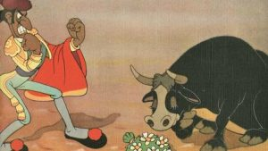 Ferdinand the Bull image from book