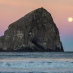 Haystack Rock, Oregon coast